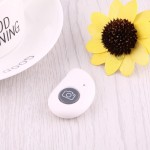 For Android 4.2.2 or Newer and IOS 6.0 or Newer Bluetooth Photo Remote Shutter for Smartphone(White)