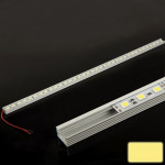 8.5W Warm White 36 LED 5050 SMD Aluminum Light Bar, Length: 50cm