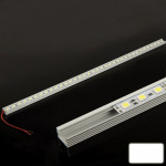 8.5W White 36 LED 5050 SMD Aluminum Light Bar, Length: 50cm