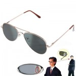 Anti-Track UV Protection Reflex Sunglasses Side Mirror with Protective Box