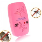 Ultrasonic Electronics Insecticide with Two Steps of Adjustable, Pink (EU Plug)