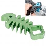 TMC Fishbone Style Aluminium Tighten Wrench Nut Spanner Thumb Screw Tool for GoPro Hero 4 / 3+ / 3 / 2 / 1(Green)