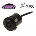 16.5mm Waterproof Rear View Camera for Car GPS, Wide viewing angle: 120 degree (DM1637)(Black)