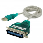 High Quality USB 2.0 to Parallel 1284 36 Pin Printer Adapter Cable, Cable Length: Approx 1m(Green)