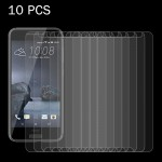 10 PCS for HTC One A9 0.26mm 9H Surface Hardness 2.5D Explosion-proof Tempered Glass Screen Film