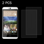 2 PCS for HTC Desire 826 0.26mm 9H Surface Hardness 2.5D Explosion-proof Tempered Glass Screen Film