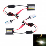 DC12V 35W 2x H1 Slim HID Xenon Light, High Intensity Discharge Lamp, Color Temperature: 8000K