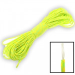 100m 7 Core Durable Army Paratroopers Rope Rescue Survival Tent Rope(Yellow)
