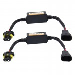 2 PCS 9005/9006/9012 Car Auto LED Headlight Canbus Warning Error-free Decoder Adapter for DC 9-36V/20W-40W