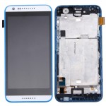 iPartsBuy for HTC Desire 620 Original LCD Screen + Touch Screen Digitizer Assembly with Frame (White + Blue)