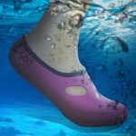Comfortable and anti-slip 3MM swimming diving socks breathable water to swim the beach socks Size:XS (33-34)(Magenta)