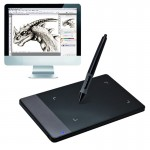 HUION 420 Portable Smart 4.0 x 2.23 inch 4000LPI Stylus Digital Tablet Signature Board with Digital Pen