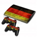 Germany Flag Pattern Decal Stickers for PS3 Game Console