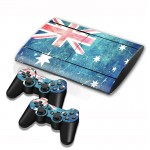 Australian Flag Pattern Decal Stickers for PS3 Game Console