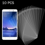 10 PCS Xiaomi Redmi Note 3 0.26mm 9H Surface Hardness 2.5D Explosion-proof Tempered Glass Screen Film