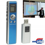 2.4GHz Wireless Transmission Multimedia Presenter with Laser Pointer & USB Receiver for Projector / PC / Laptop, Control Distanc