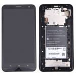 iPartsBuy for Asus Zenfone 2 Laser / ZE601KL LCD Screen + Touch Screen Digitizer Assembly with Frame(Black)