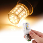E27 Warm White 4W 30 LED SMD 2835 Corn Light Bulb, AC 220V