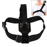 360 Degree Rotary Special Sports Single Shoulder DV Chest Belt for GoPro HERO4 Session /4 /3+ /3 /2 /1 (Black)