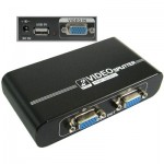 2 Ports High Quality Video Splitter