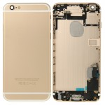 iPartsBuy for iPhone 6 Plus Full Housing Back Cover(Gold)