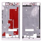 iPartsBuy Front Housing Screen Frame Bezel for Huawei Ascend P7(White)