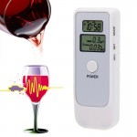 Dual Digital Breath Alcohol Tester with Lanyard