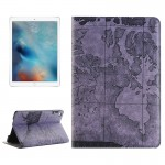 Map Pattern Horizontal Flip Leather Case with Holder & Card Slots & Wallet for iPad Pro 12.9 inch, Random Pattern Delivery