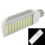 E27 12W White 50 LED 5050 SMD LED Transverse Light Bulb, AC 85V-265V