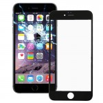 iPartsBuy Front Screen Outer Glass Lens with Front LCD Screen Bezel Frame for iPhone 6 Plus(Black)