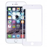 iPartsBuy Front Screen Outer Glass Lens with Front LCD Screen Bezel Frame for iPhone 6 Plus(White)
