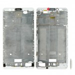 iPartsBuy Front Housing LCD Frame Bezel Plate Replacement for Huawei Ascend Mate 7(White)