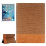 Cross Texture Horizontal Flip Leather Case with Holder & Card Slots & Wallet for iPad Pro 9.7 inch(Brown)