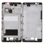 iPartsBuy Huawei Mate 8 Front Housing LCD Frame Bezel Plate(Black)