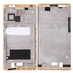 iPartsBuy Huawei Mate 8 Front Housing LCD Frame Bezel Plate(Gold)