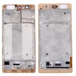 iPartsBuy Huawei P9 Plus Front Housing LCD Frame Bezel Plate(Gold)