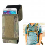 Stylish Outdoor Water Resistant Fabric Cell Phone Case, Size: approx. 17cm x 8.3cm x 3.5cm (CP)
