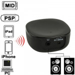 Mini Bluetooth Music Receiver for iPhone 4 & 4S / 3GS / 3G / iPad 3 / iPad 2 / Other Bluetooth Phones & PC, Size: 46 x 46 x 20mm