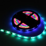 5m 40W 150 LEDs SMD-5050 Epoxy Waterproof Pixel Horse Race Rope Light, Single Side(Colorful Light)