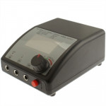Dual LCD Digital Tattoo Power Supply Machine W/ Lead For ClipCord Foot Pedal(Black)