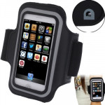 Sports Armband Case with Earphone Hole for iPhone 5 & 5C & 5S(Black)