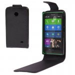 Vertical Flip Leather Case for Nokia X / X+