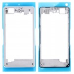 iPartsBuy Rear Housing Frame Replacement for Sony Xperia Z1 Compact / D5503(White)