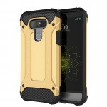 For LG G5 Tough Armor TPU + PC Combination Case(Gold)