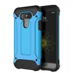 For LG G5 Tough Armor TPU + PC Combination Case(Blue)