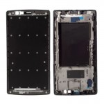 iPartsBuy for LG G4 / H815 Middle Frame Bezel with Adhesive Sticker(Black)