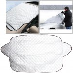 Car Auto Aluminum Film Sunshine Frost Snow Protect Windshield Cover, Size:142×92cm