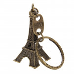 Paris Eiffel Tower Furnishing Articles Model Photography Props Creative Household Gift, Size:5 x 2.1cm(Bronze)
