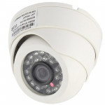 CMOS 420TVL 3.6mm Lens ABS Material Color Infrared Camera with 24 LED, IR Distance: 20m