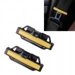 DM-013 2PCS Universal Fit Car Seatbelt Adjuster Clip Belt Strap Clamp Shoulder Neck Comfort Adjustment Child Safety Stopper Buck